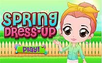 Играть онлайн Весенняя одежда бесплатно